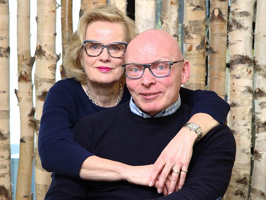 Liisa Puhakka, Visualistin und Unternehmerin mit Esa Puhakka Dipl Augenoptiker und Optometrist FH (Bsc) a