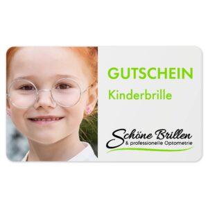 Gutschein 1to1 - Kinderbrille
